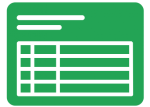 Green Spreadsheet Icon